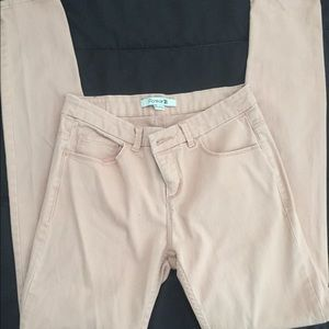 Forever 21 Junior Pastel Pink Stretched Pants 25
